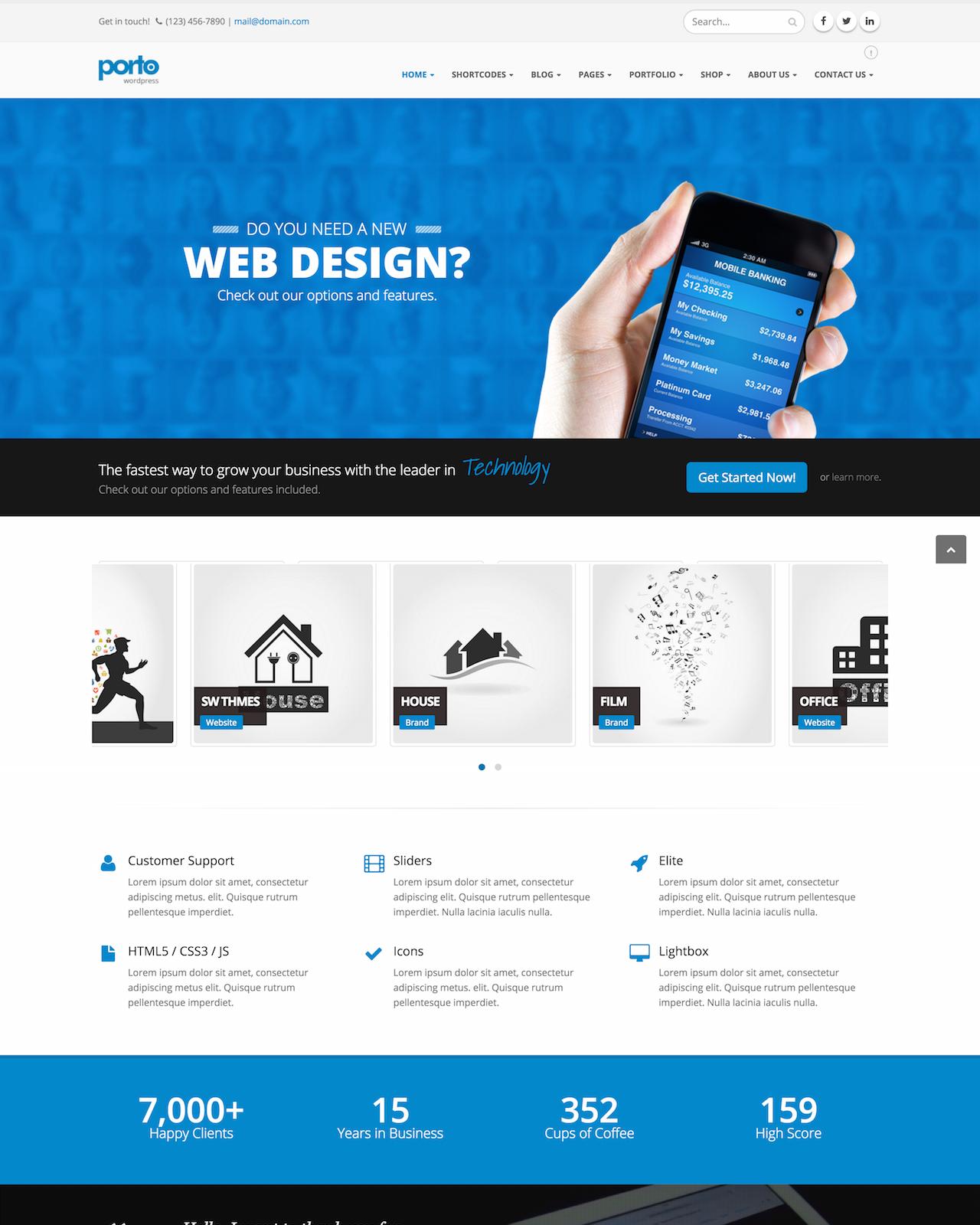 Porto - Responsive WordPress WooCommerce Theme – WP.Style