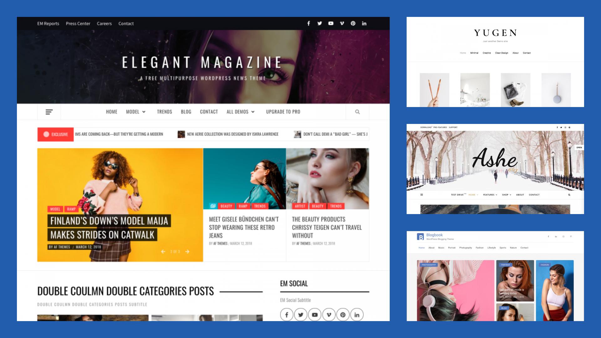 TOP 10 Free Magazine WordPress Themes in 2018