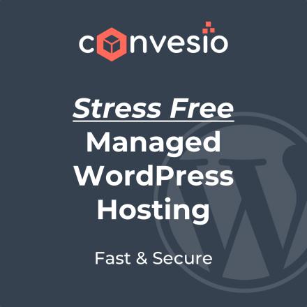 Stress Free Managed WordPress Hosting